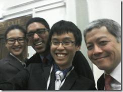 2015.02.06-LSE-Model-UN-4-Selfie-Joshua.Wong Kirk Natasha DQ