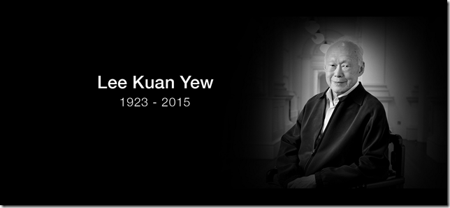 Lee Kuan Yew. 1923-2015 (Photo by Tara Sosrowardoyo, National Museum of Singapore Collection.)