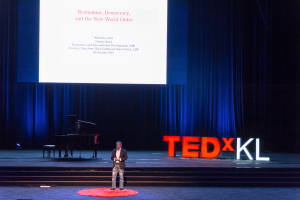 Economics, Democracy, and the New World Order - TEDxKL 2014.08.09